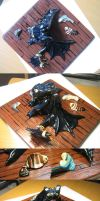 Toothless figurine DONE by Zanten