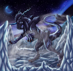 Commission- Master of Fog and Ice by Narncolie