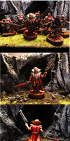 Chaos Cultists by Minisnatcher