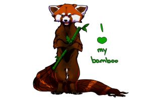 I Love My Bamboo (tablet?) by Dyaniart