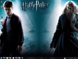Harry Potter 6 Windows 7 Theme by yonited