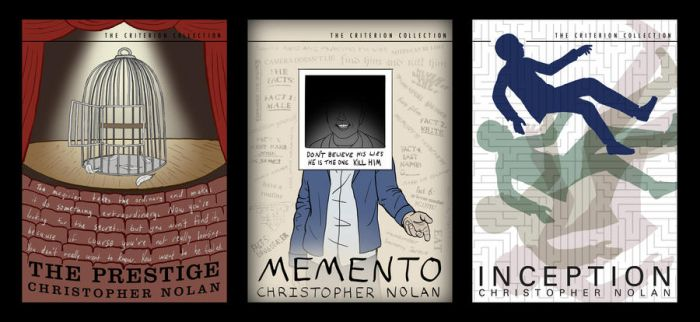 Christopher Nolan Criterion Collections by CrimsonskyR