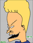 BEAVIS... heh heh heh heh by demonangel55