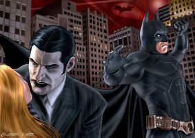 Batman Vs the Joker by supersebas