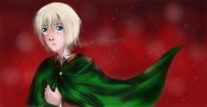 Armin Arlert (color) by TheRedAuthor