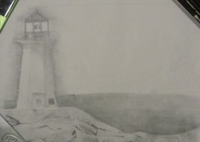 Lighthouse by Fishieart
