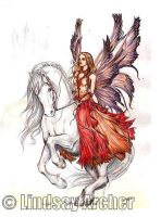 Fairy Steed by LinzArcher