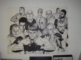 UFC Fighters by buzzerbeat