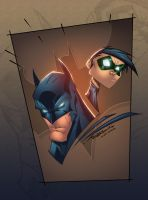 Batman and Robin by AlonsoEspinoza