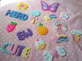 Perler Assortment by Sugary-Stardust