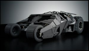 Batman's Tumbler by SpawnV2