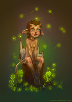little Faun by tomtitRin