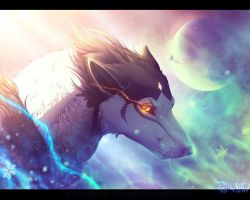 Magical northern lights or breath of cold by Argona-TF-spy