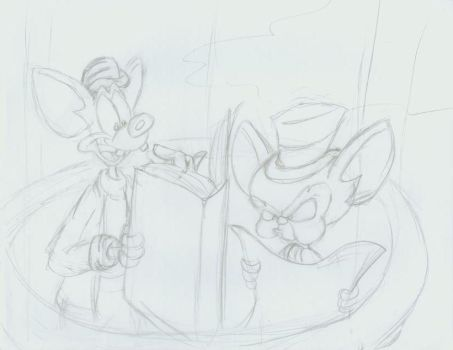 Unfinished Pinky and Brain by Splrix