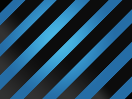 Large Stripe: Black and Blue by R2krw9
