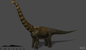 [The Isle] Default Puertasaurus by Phelcer