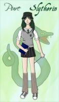 Me as a Slytherin by Coni