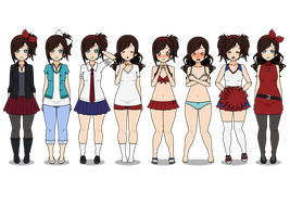 Lacey's Wardrobe by C4PNshota