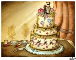 Imaginary wedding by Henriak