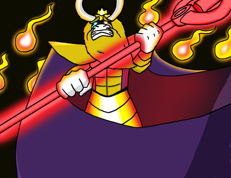 Undertale: Asgore The King by Notori0us7