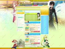 Sword Art Online - Layout by igabrieldavid