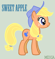 Sweet Apple REQUEST Kittyitty123 by MaryPonyArtist