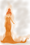 Flame Princess by 11gothgirl11