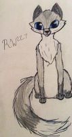 Silver fox by Rosewater227