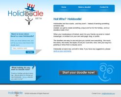 Holidoodle - Website by Alneo