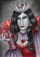 Self as the Red Queen by Lady-CaT