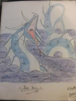 Sea Serpent King by ShadowOrder7