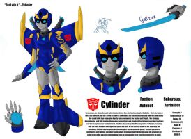 Cylinder - G1 by Cylinder-the-Autobot