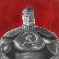 Red Son Superman by mmasamun3