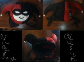 Harley Quinn Back Pack by IrashiRyuu