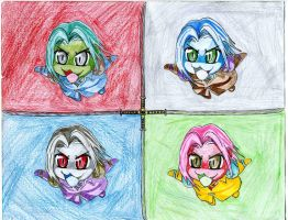 Sefroth Personalities by Dougernaut