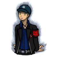 Shadow Junpei by ammchan