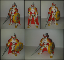 Gallantmon plastilina by fsalkatras