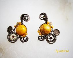 Orion Earrings by Nemhiria