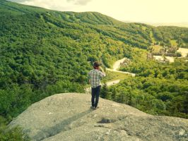 Green Mountain Man by Champineography
