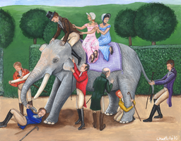 The Blind Men and the Elephant by RJDaae