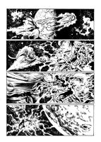 New Avengers 18 - p.12 (Mike Deodato) - Inks by GlauberMatos
