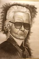 Karl Lagerfeld by CaptainBoss