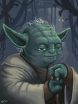 Master Yoda by killerbee23