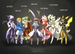DragonNest Furries by ZiyoLing