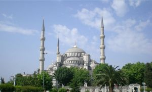 The Blue Mosque by Tasky