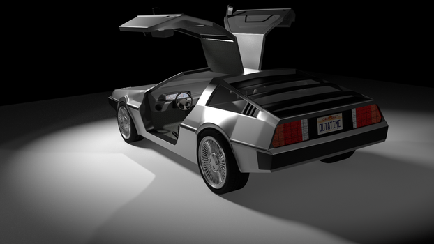 Delorean (Update) by LeBonBounty