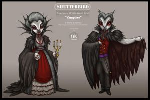 Vampire Owls by Nekranea