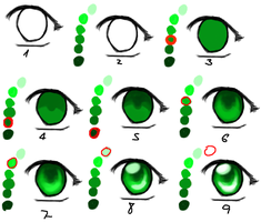 quick eye tutorial by rotemuChan