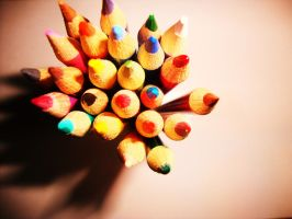 Pencils by Laura-in-china