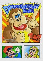 Doooooonkey Kong alt color by mightyfilm
